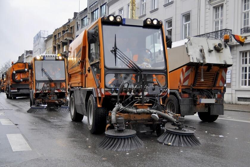 Ausschreibungen für Straßenreinigung