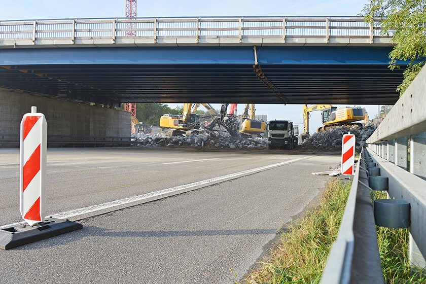 Ausbau der A1 hat begonnen