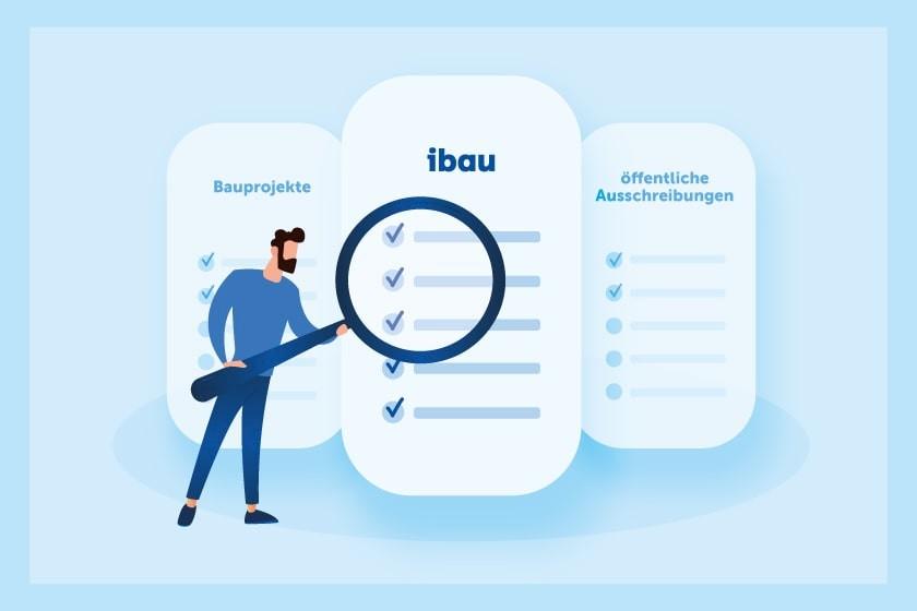 ibau Xplorer - der Recherchedienst von ibau für Bauprojekte und öffentliche Ausschreibungen