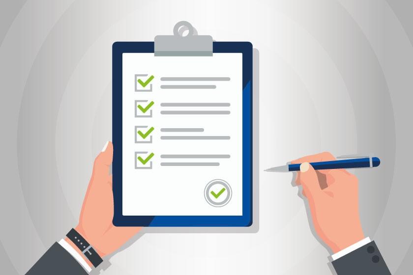 To-Do-Listen zur richtigen Bearbeitung von Ausschreibungen