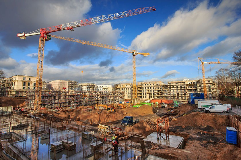 Ausschreibungen & Aufträge für die Baustelleneinrichtung