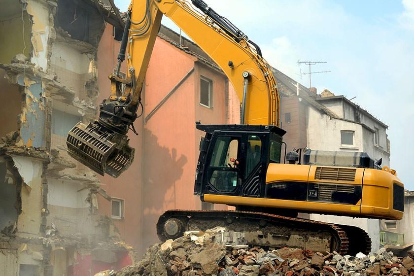 Ausschreibungen & Aufträge für den Gebäuderückbau