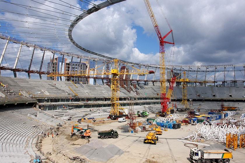 Ausschreibungen & Aufträge für den Stadionbau