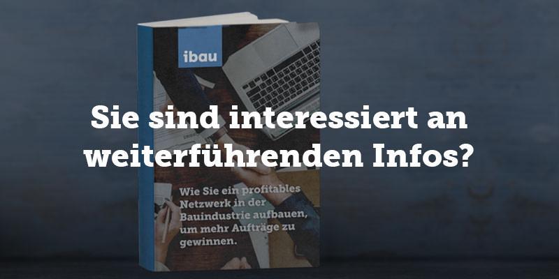 Das E-Book von ibau mit Tipps und Tricks zur Auftragsgewinnung