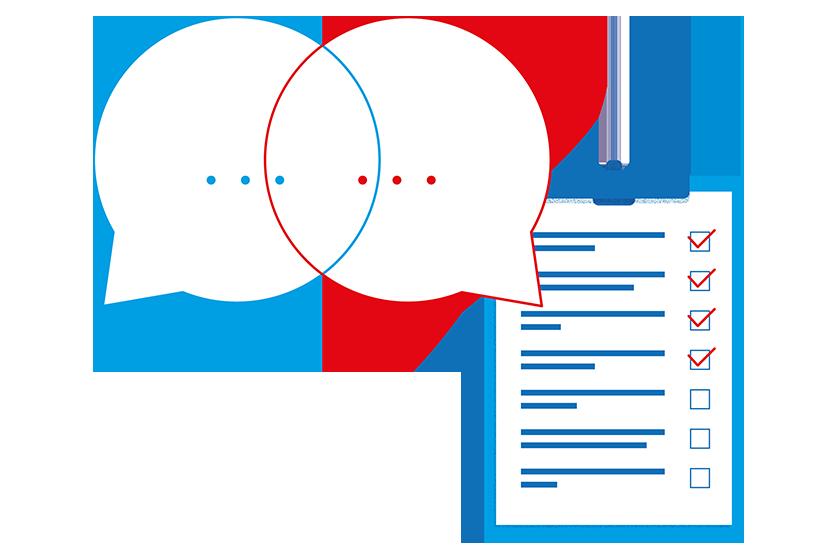 Darstellung effizienter Zeiteinteilung mit der ibau Vertriebsunterstützung