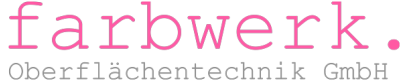 Logo farbwerk. Oberflächentechnik GmbH