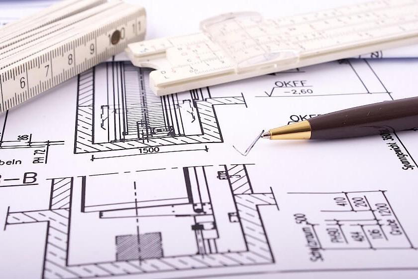 Detaillierte Zeichnung für die Ausführungsplanung