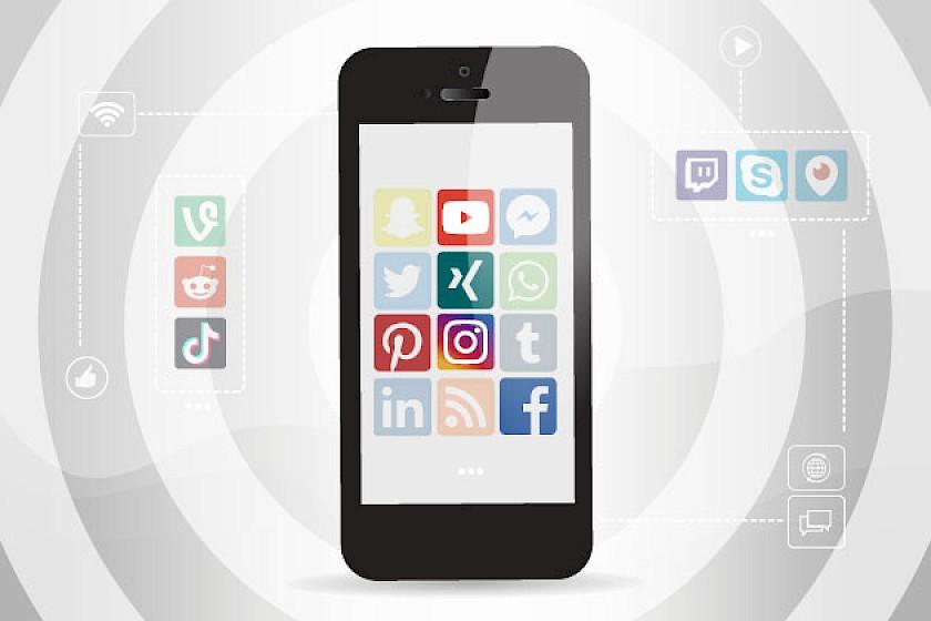 Die beliebtesten Social Media Kanäle