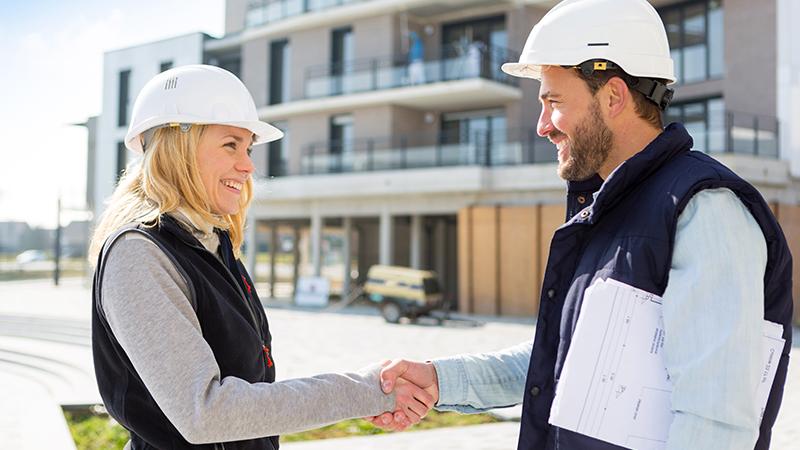 Vertrauensvolle Abstimmung mit Ansprechpartnern wie Kommunen und Bauherren
